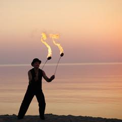 Art of fire spinning