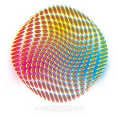 Punkte, Drucktechnik und Druckfarbe