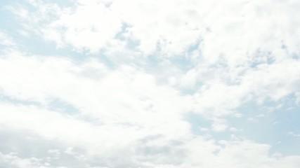 panorama of cloudy sky