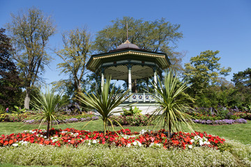 Garden Gazebo Up Hill