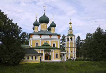 Cathedral of Transfiguration in the Uglich Kremlin