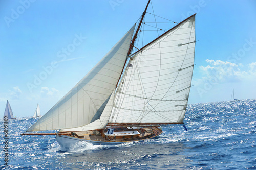 Panel Szklany Barca a vela