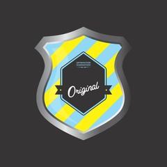 insignia shield product label art