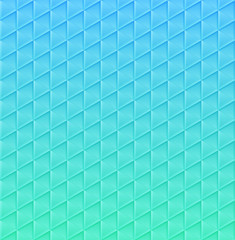 Mosaic pattern with Geometric shapes. Vector illustration