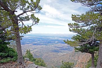 Sicht vom Sandia Peak, New Mexico