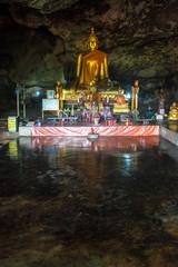 Cave temple in Kanchanaburi province, Thailand