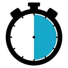 Stoppuhr: 30 Sekunden / 30 Minuten / 6 Stunden