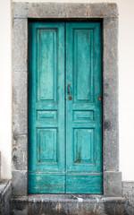 vecchio portoncino blu