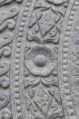 Design Stone Wheel of Dharma