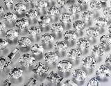 Background of different shape jewelry gemstone. Diamond - 68994957