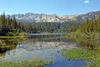 canvas print picture - Mammoth Lakes CA, Twin Lakes
