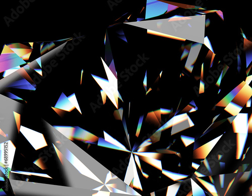 Background of jewelry gemstone - 68995152