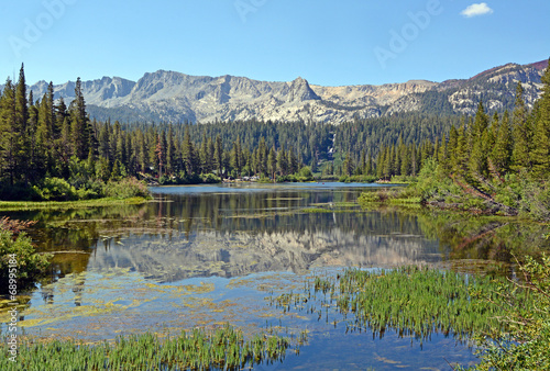 canvas print picture Mammoth Lakes CA, Twin Lakes