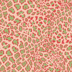 Animal Leopard Seamless Background