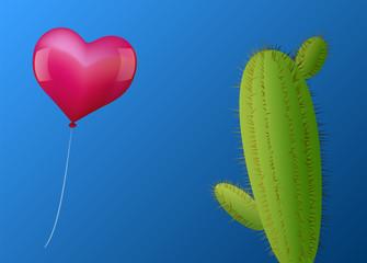 Balloon Heart Cactus