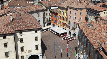 Blick auf die Altstadt von Riva del Garda