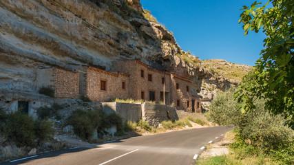 Casas Cueva En Jorquera. Albacete. España