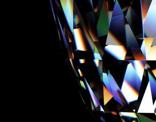 Background of jewelry gemstone