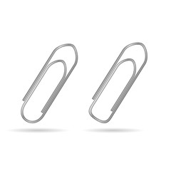 paper clip vector illustration