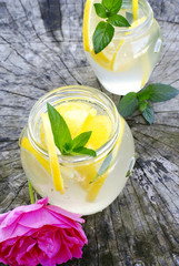 diet with lemonade