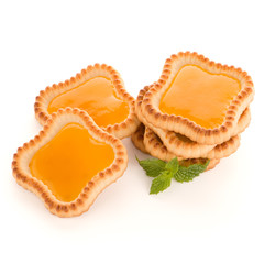 Lime jam tartlets
