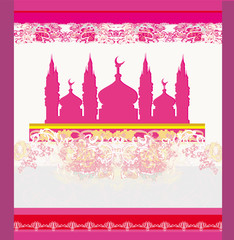 abstract religious background - Ramadan Kareem Vector Design