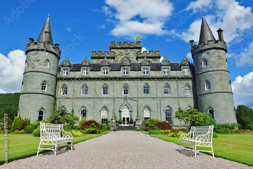 Inveraray castle front view - 68998730