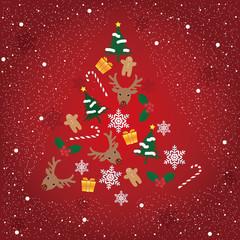 christmas card クリスマスカード 背景