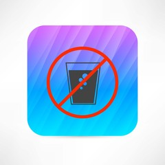 no soda water icon