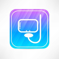Snorkelling icon