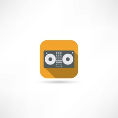 tape recorder icon