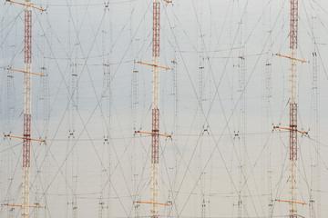 High antenna poles