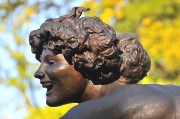 Particolare di fontana in Central Park