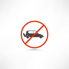 no cars icon