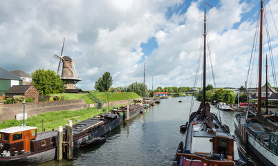 Dutch port of historic ships