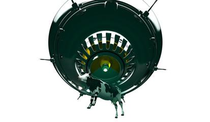 Atterraggio Ufo, Alieni