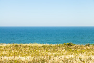 view of Sea of Azov from Taman Peninsula