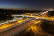 San Diego 405 Freeway at Sunset Blvd in Los Angeles