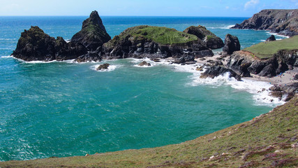 A day at the Kynance Cove, Cornwall
