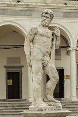 Caco statue