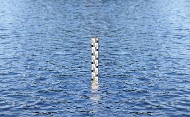 Pegelstand eines Gewässers