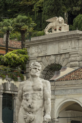 Statue of Hercules and Arch Bollani