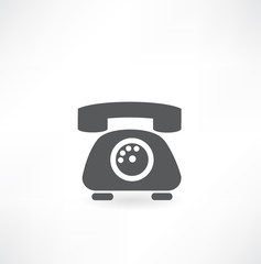 Phone icons, vector illustration