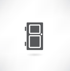 Door - vector icon