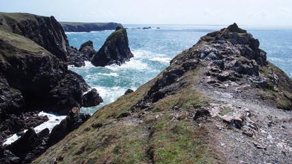 Kynance Cove on the Lizard peninsula, Cornwall