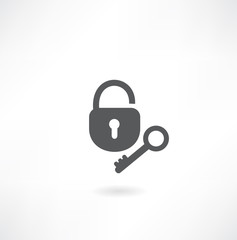 key with lock icon