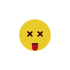 Dead flat emoji