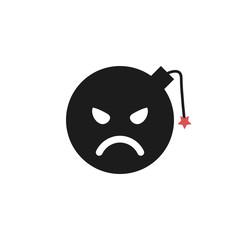 bomb flat emoji