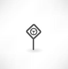 dangerous sign icon