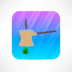 coffee turk icon